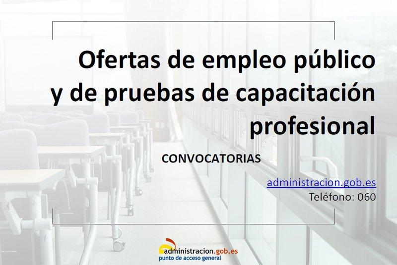 Ya está disponible el Boletín semanal de #EmpleoPúblico Consúltalo aquí  👇  http://run.gob.es/earedw