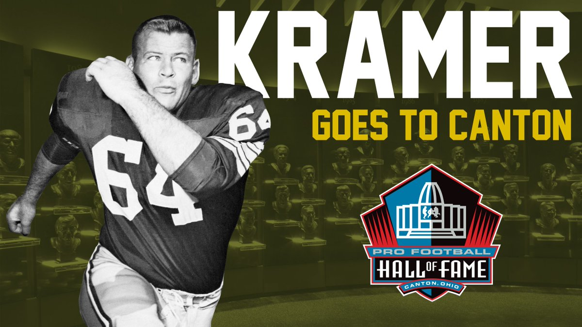 All the coverage from Jerry Kramer's memorable weekend in Canton  ➡️ https://t.co/unUlYj5rOI   #PFHOF18