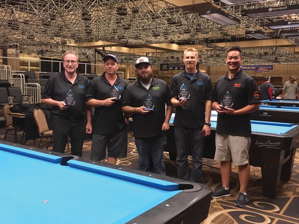 Local squad takes second at BCA Pool League World