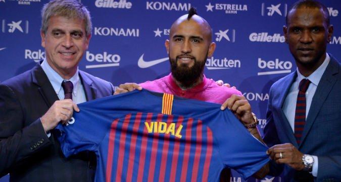 #Vidal snobba l\