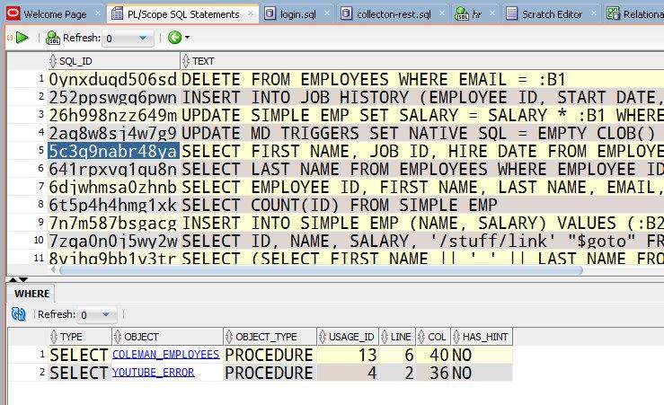 Oracle SQL Developer's tweet -