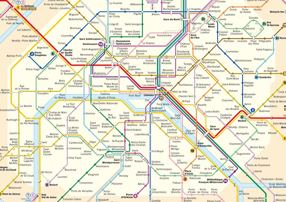 Citymetric On Twitter Where Does Paris Get Its Metro Station Names