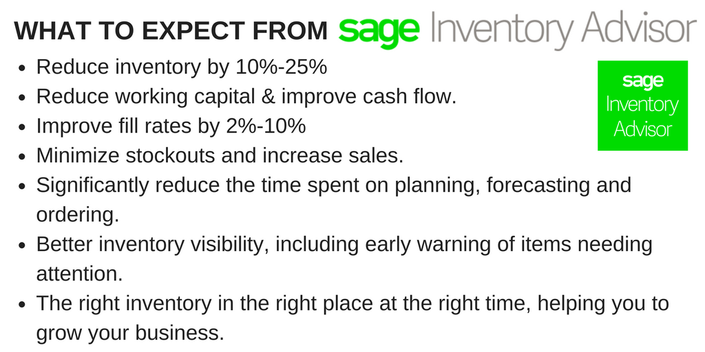 Does your business use analytics to drive more profit from your inventory? The vast majority of SMBs don&#39;t! With #Sage #InventoryAdvisor, you can use the tools your bigger competitors rely on.  https://www. inventoryadvisor.co/free-demo/  &nbsp;   #Cloud #SaaS #Wemakeinventorywork<br>http://pic.twitter.com/Zpuwlppmjo
