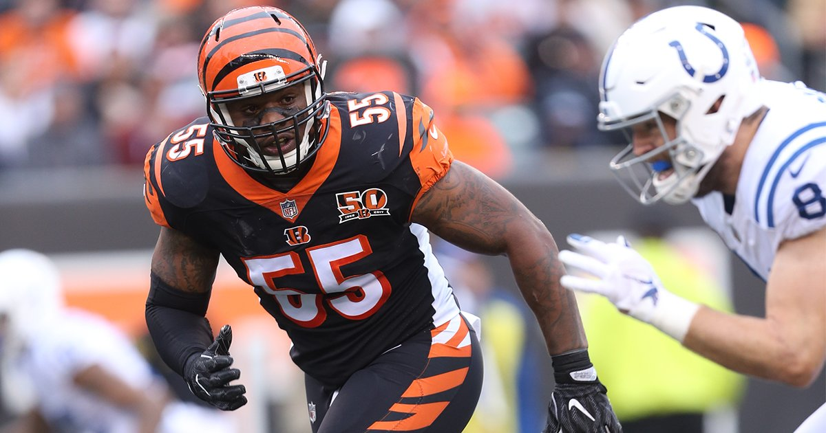NEWS: LB Vontaze Burfict has passed a physical and is expected to return to practice https://t.co/Zkf9izcP1i