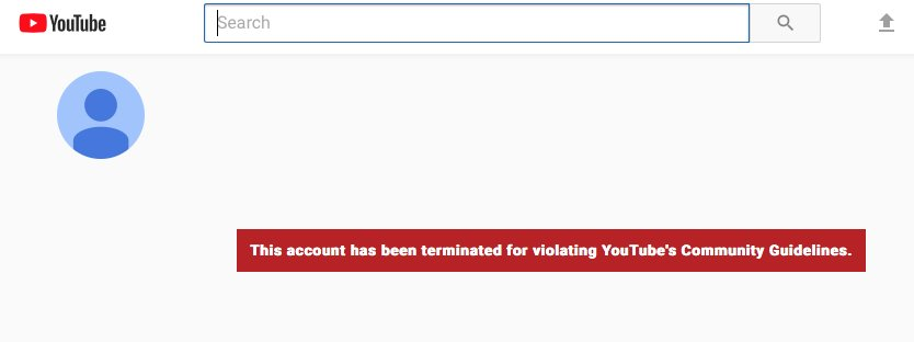 It appears YouTube has removed the Alex Jones Channel for violating its guidelines