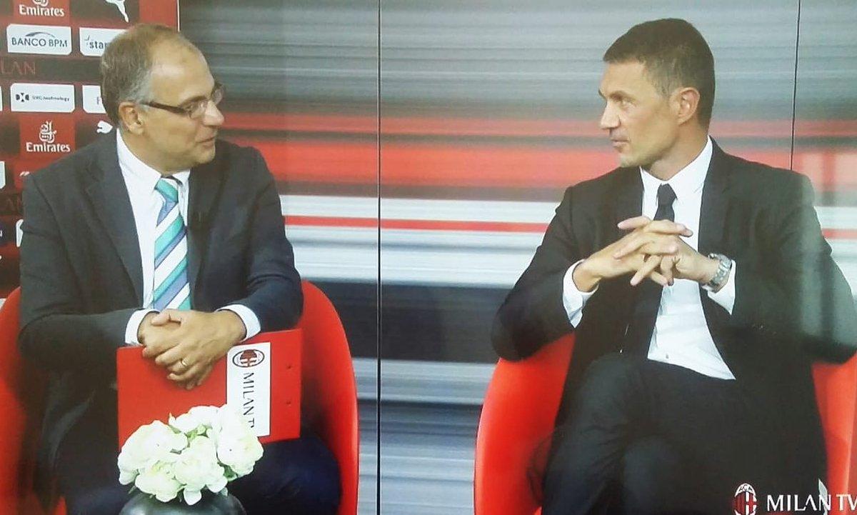 Paolo Maldini nella Casa televisiva dei Milanisti @MilanTV #Maldini #Milan #Leonardo #MaldiniDay  - Ukustom