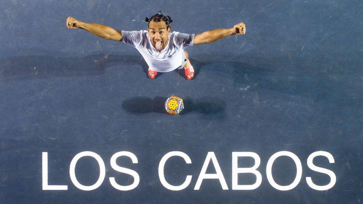 Como si hubiera sido ayer... ¡@fabiofogna 🇮🇹 es el campeón del #ATC2018! 🎉😜🎾🏆🎉 #LiveItLoveIt @ATPWorldTour
