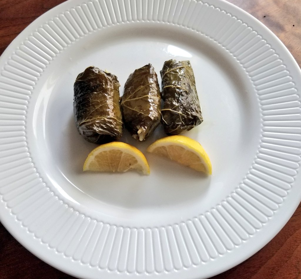 @DoraTreats: Dolmathes - Stuffed Grape Leaves #Greekfood #catering #foodie #foodporn https://t.co/NpbO62ts24