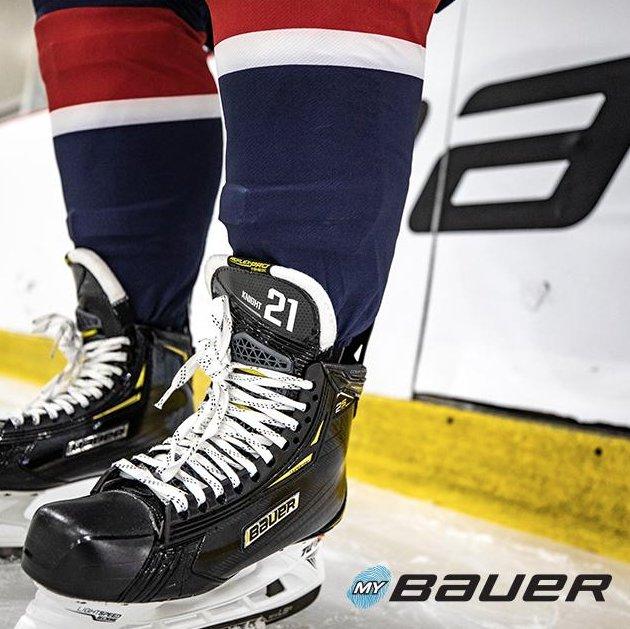 Custom Skates with YOUR name on them. Available now from @BauerHockey .  #JerrysHockey #MyBAUER #Custom