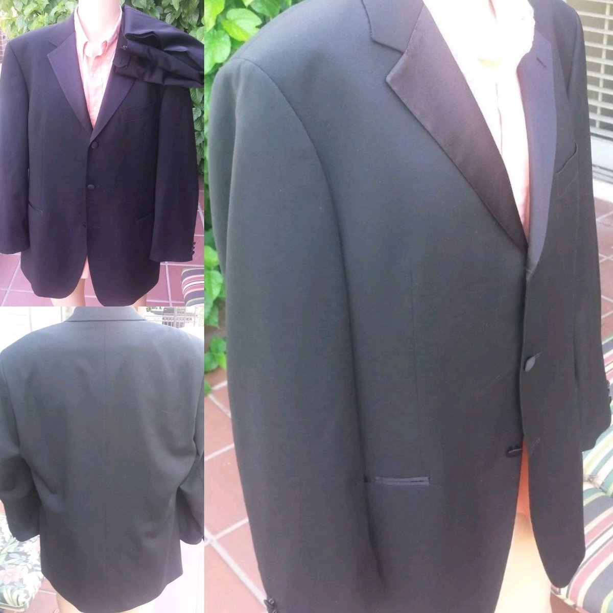 230c6e8dd Check out this Hugo Boss Black Label tuxedo suit. Jacket 42R, pants 36x32,  and in NEW condition with original tags https://ebay.to/2MczXpG #fashion # tuxedo ...
