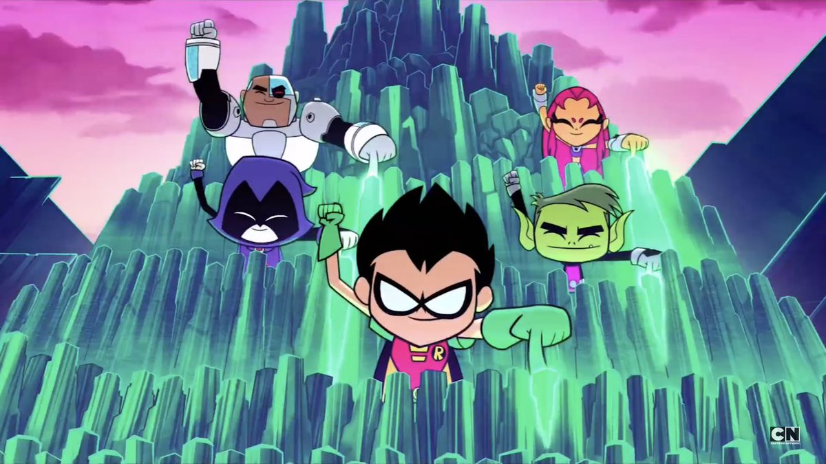 And the teen titans travel