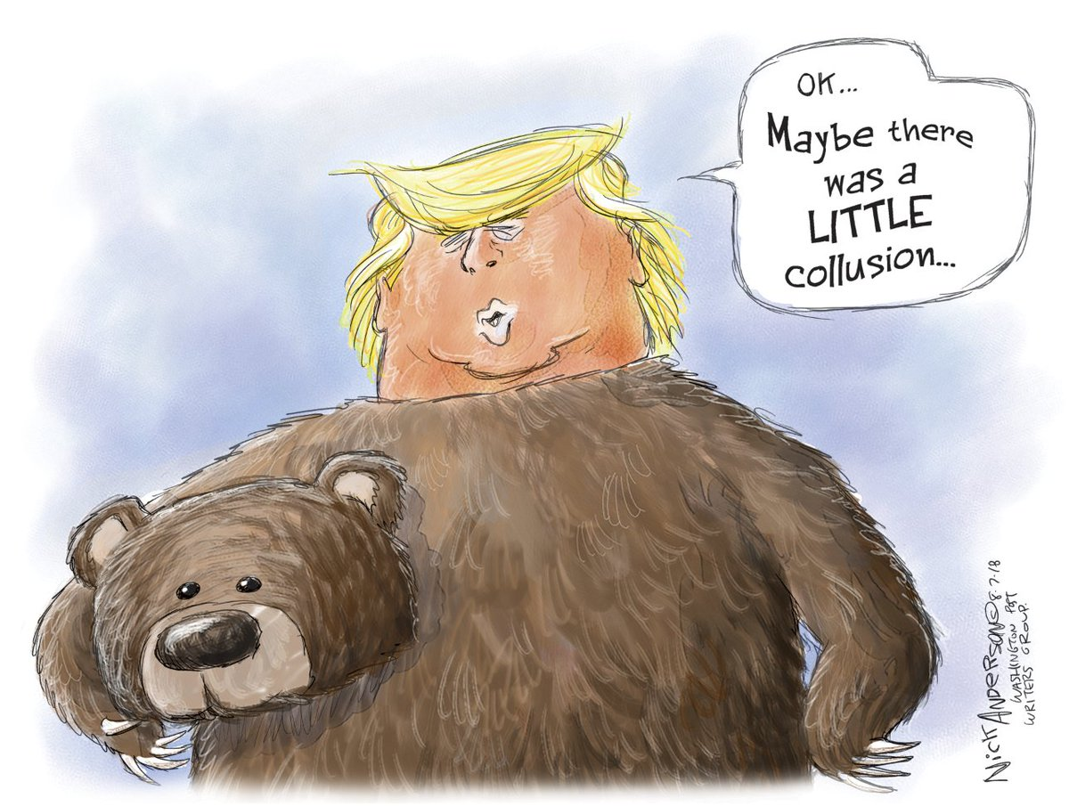 NO COLLUSION!!  Support me on Patreon so I can continue driving the TrumpTards crazy:  https://www. patreon.com/editorialcarto ons &nbsp; …   #Collusion #TrumpTower #TrumpRussia #PutinsPuppet #RussianCollaborators #TrumpConspired @realDonaldTrump<br>http://pic.twitter.com/p7XxaQrtNx