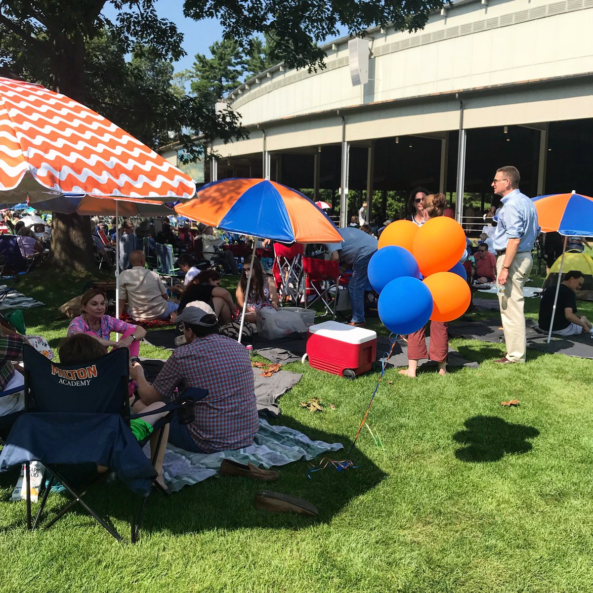 Thank you to all of the Milton alumni, parents and friends that joined us at Tanglewood yesterday!