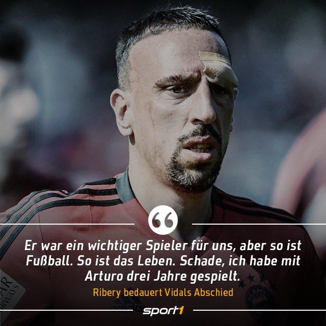 Sport1 On Twitter Bromance Ribery Vidal