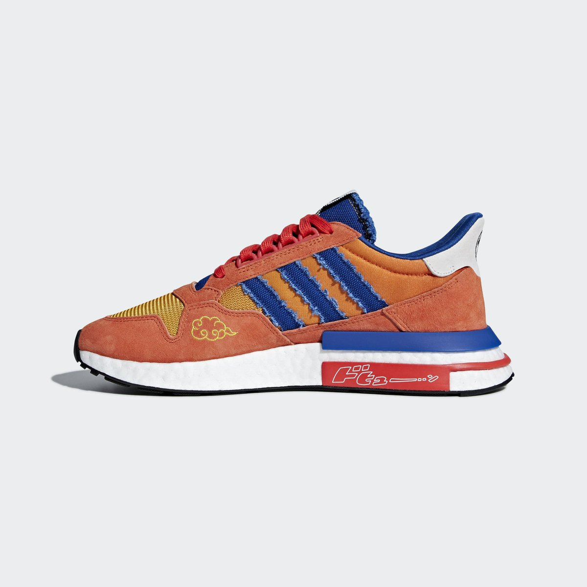 67581427f92a1e Official adidas images of the Dragon Ball Z x adidas ZX 500 RM Boost