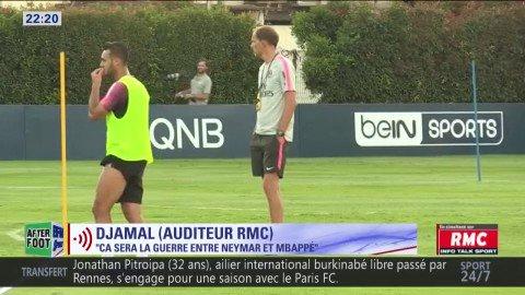 """""""Ce sera la guerre entre #Neymar et #Mbappé au #PSG"""" : D\"""