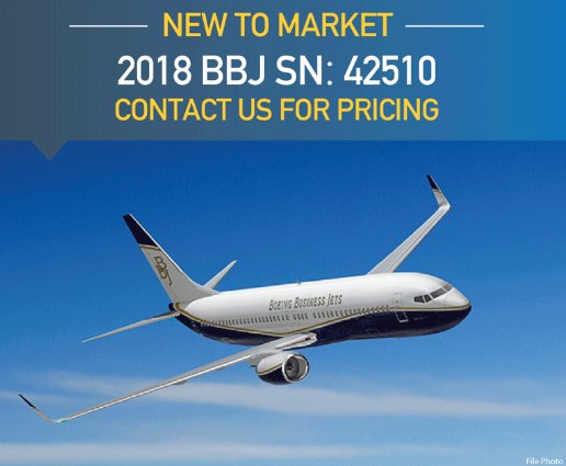 New to Market at @AsianSkyGroup - 2018 #BBJ delivered in June, 2018 six zone cabin configuration currently based in US Contact them for more info at  http:// ow.ly/HTbv30li88k  &nbsp;    #bizjet #bizav #aircraftforsale #privateaviation #privatejet #privateflying #jetforsale #businessaviation<br>http://pic.twitter.com/s7MFuJxwe0