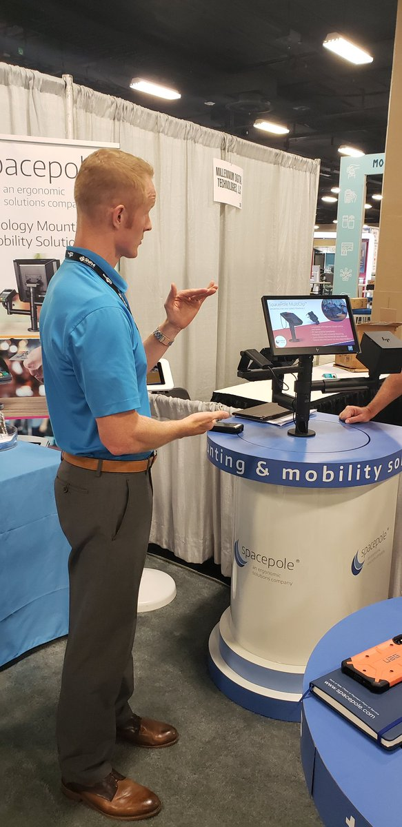 test Twitter Media - Personal demonstrations of our newest mPOS - the OpenSpace Duo, and our @HP Engage One solution at booth 1304 https://t.co/dy80NC8FIY