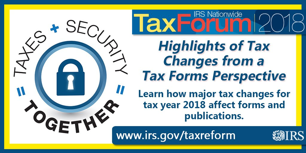 Irs On Twitter Taxpros Plan Ahead For Tax Year 2018 Find Out
