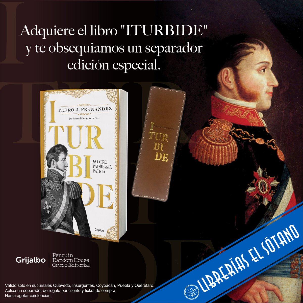 @pedroj86 presenta Iturbide. El otro padre de la patria, disponible aquí:  http://bit.ly/2LLyZNn pic.twitter.com/vDzKVLZnig