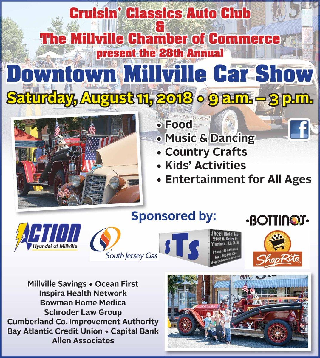 Jerry Covella GNCovella Twitter - Millville car show 2018