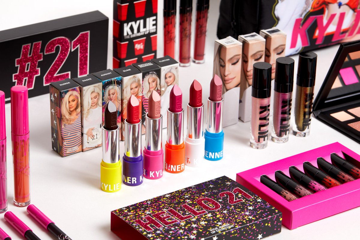 kylie cosmetics birthday collection Kylie Jenner on Twitter: