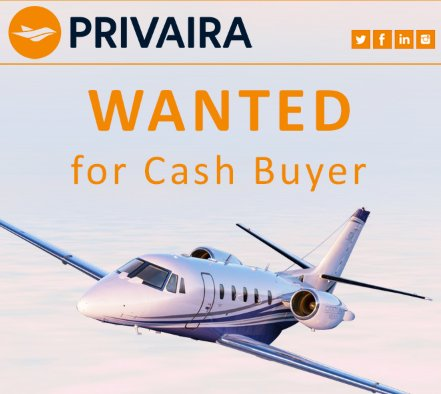@Privairaprivate is looking for Off Market 2001 or newer #CitationExcel or XLS for Cash Buyer! APU Under 6000 hour TT WiFi and ADS-B a plus Get in touch with them today at  http:// ow.ly/wyzl30li9dZ  &nbsp;    #bizjet #bizav #aircraftforsale #jetforsale <br>http://pic.twitter.com/Ogz9UiX1IU