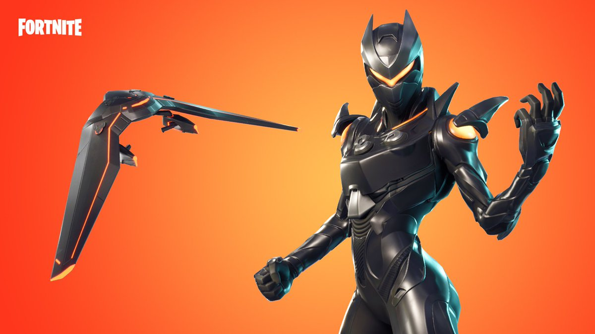 It's the end of the line.  The Oblivion, Criterion, and Whiplash Outfits are in the Item Shop now! https://t.co/452GACyMV1