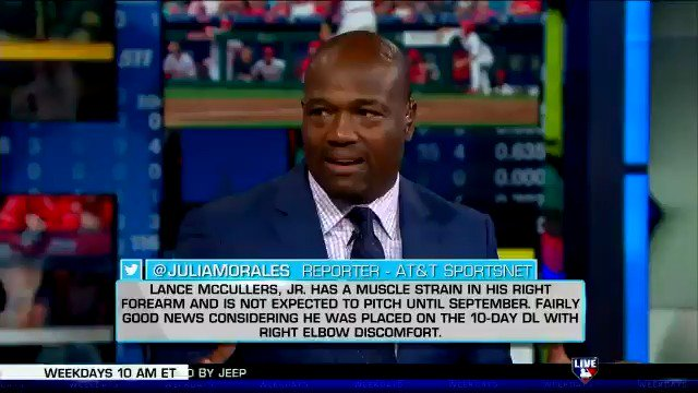 McCullers out until September. More surgery for Seager. #MLBTonight discusses the news. https://t.co/9gE5k6uhA3
