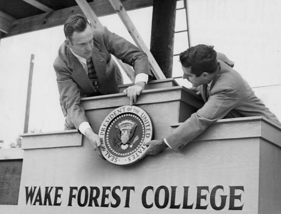 Now and Then: Wake Forest University https://t.co/SN0MqEwtir #WSNC @DemonDeacons #GoDeacs @WakeForest @WakeForestBiz @WFUAlumni @WFULawSchool @WFU_BSA