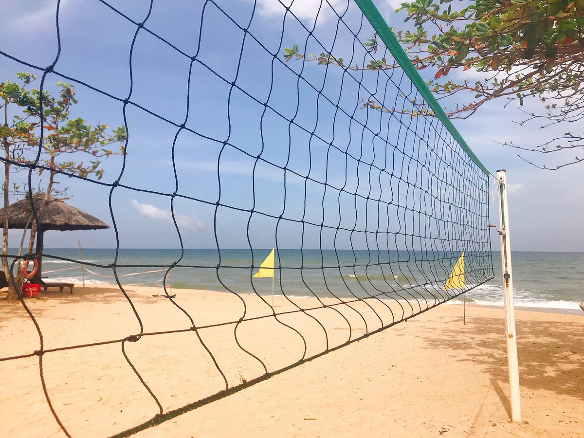 #beachvolleyball at #Mercuryphuquocresortandvillas https://t.co/e2oSJn1gXV