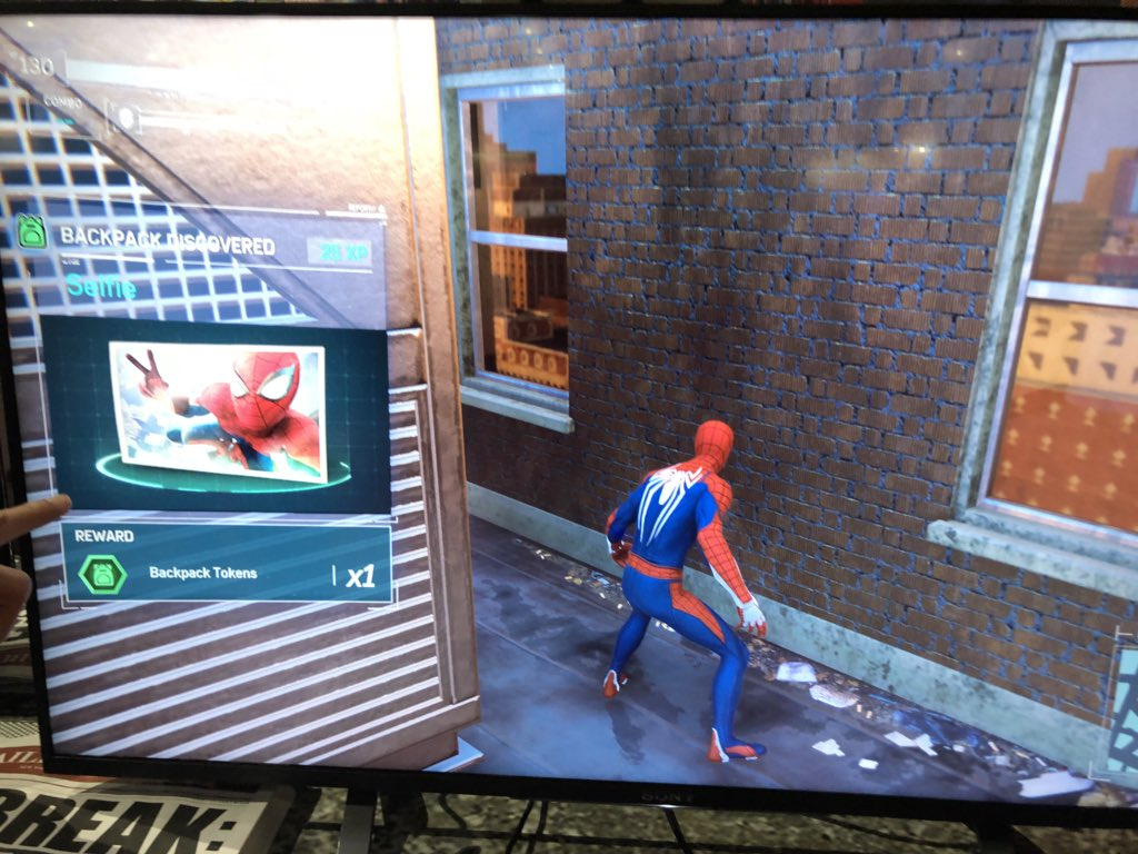 Spider Man Ps4 All Backpacks Suit