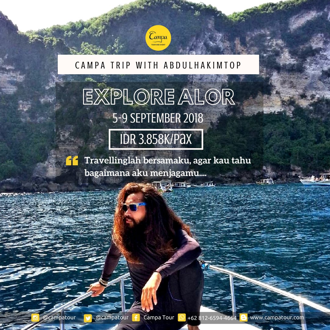 Campa Tour Campatour Twitter Paket Pulau Morotai 0 Replies 3 Retweets Likes