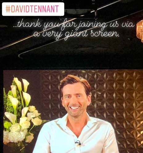 David Tennant at the panel</a> for Camping at TCA - Wednesday 25th July 2018