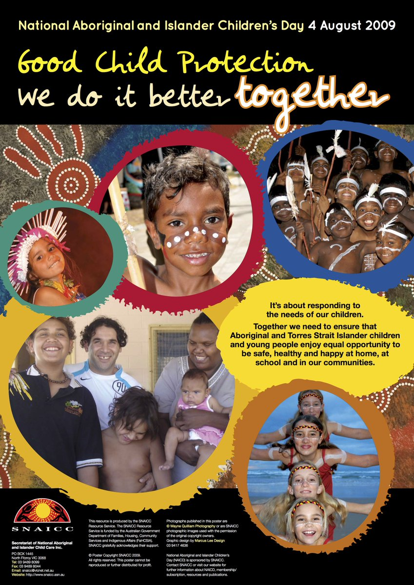 To Ensure That Aboriginal And Torres Strait Islander Children Young People Enjoy Equal Opportunity Be Safe Healthy Happy At Home