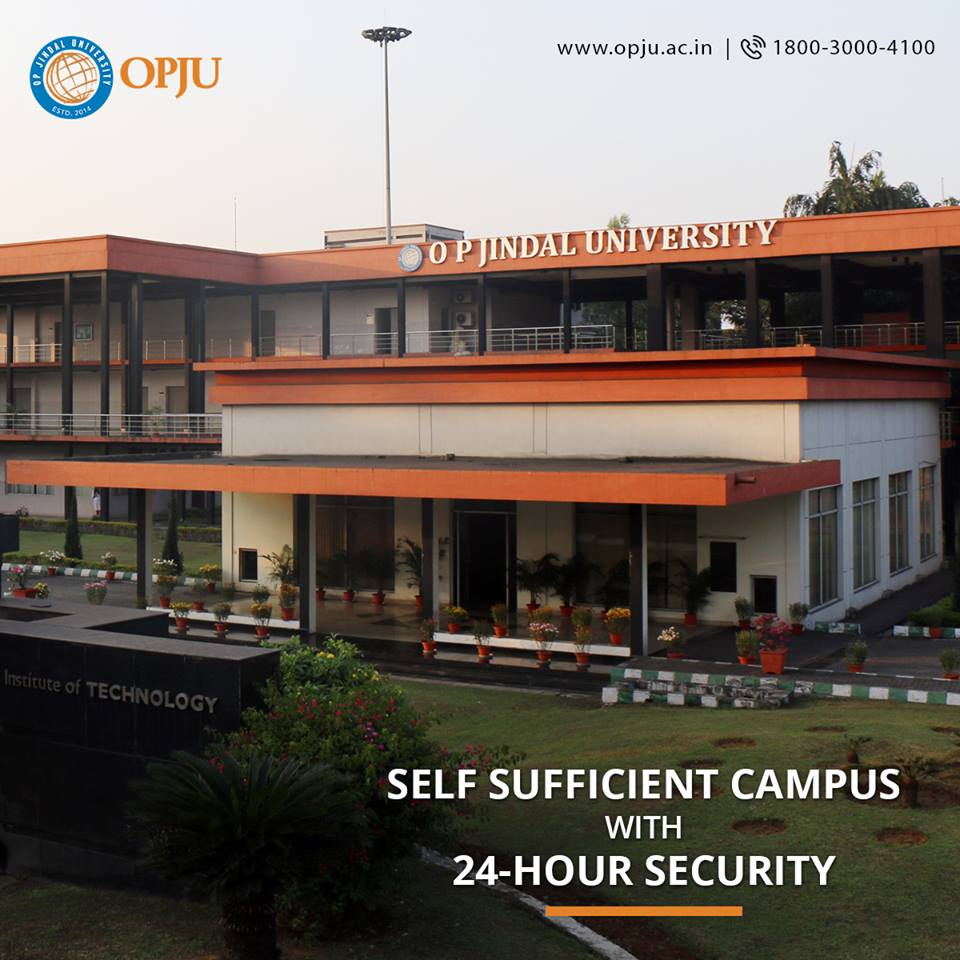 At #OPJU, we offer state-of-the-art infrastructure and a world class campus with every necessary amenities for students to facilitate their needs and safety.  For details:  http://www. opju.ac.in  &nbsp;   or call us: 1800-3000-4100<br>http://pic.twitter.com/fy45suyKYH