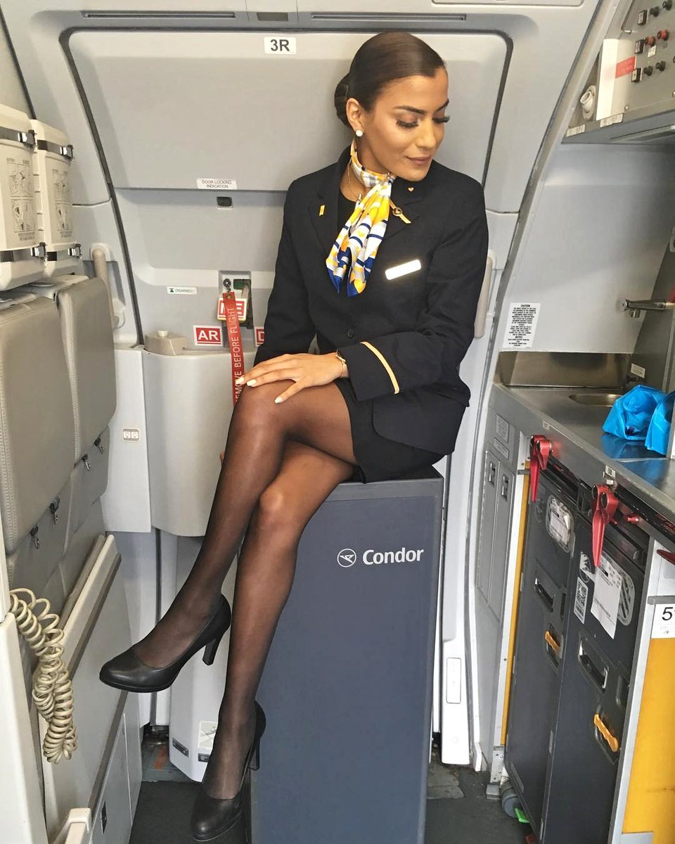 Pin on airline stewardess