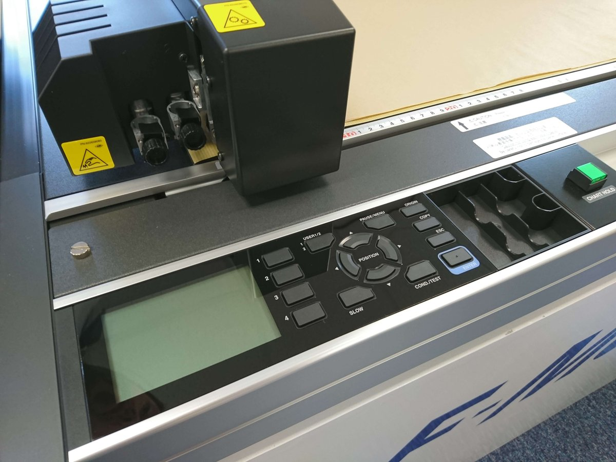 ... 50cm version of it into our demo fleet. https   graphtecgb.co.uk product graphtec-fcx4000-series-flat-bed-cutting-plotter   …pic.twitter.com Rtb6Olr0mX c47b1c2bc0