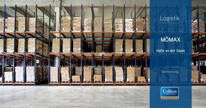 Deal der Woche: #Leipzig #Halle<br>Unser Industrial &amp; Logistics Team in Leipzig hat rund 2.000 m² in Halle an der Saale an die BDSK Handels GmbH &amp; Co. KG vermittelt. Die #Logistik Flächen werden künftig als Abhol- und Außenlager Mömax genutzt. Alle Infos:  t.co/S0zleiZ2Pe