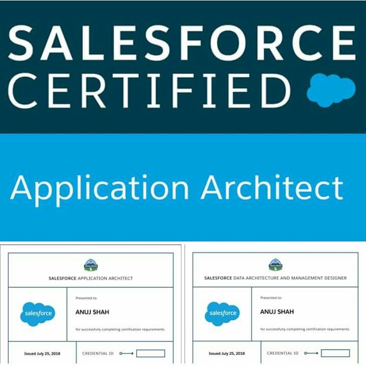 Anuj Shah On Twitter After Getting Salesforce Data Architecture