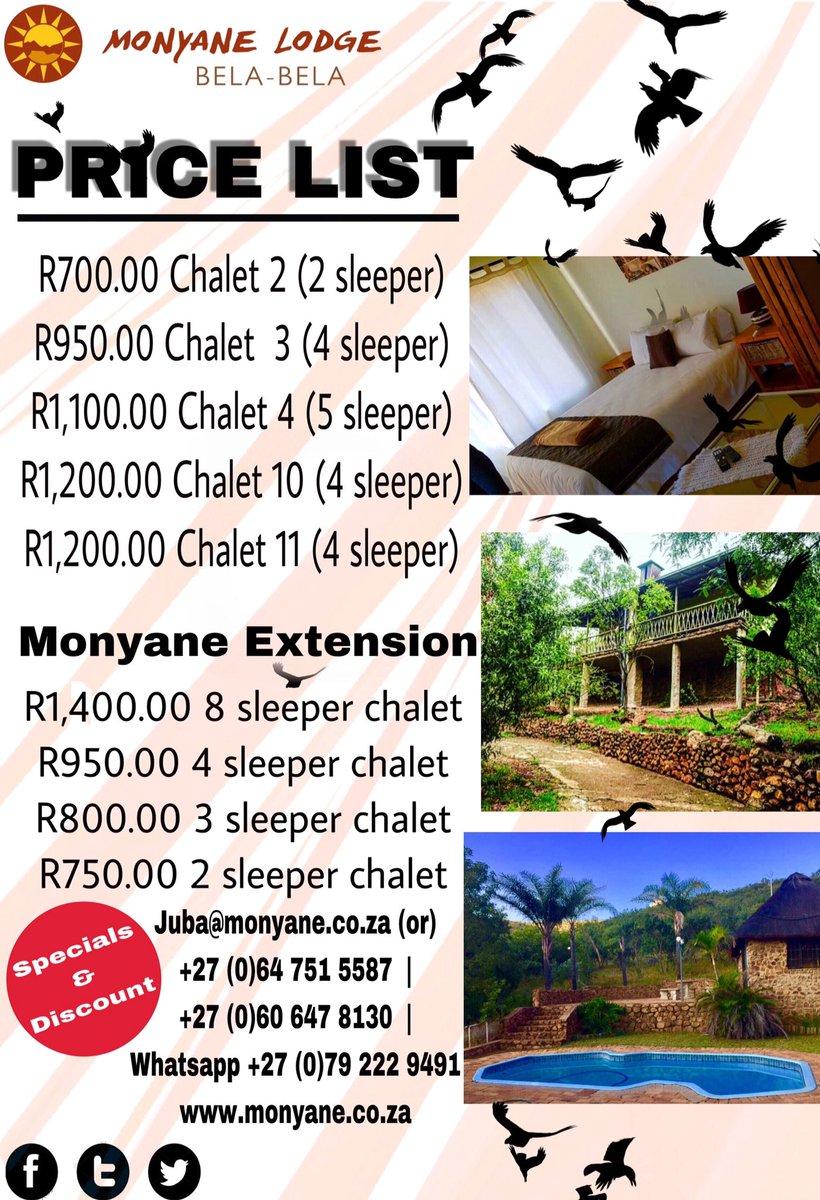 Monyane Lodge on Twitter: