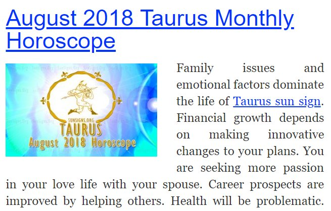 August 2018 Taurus Monthly Horoscope: ♉ @findfate Read full