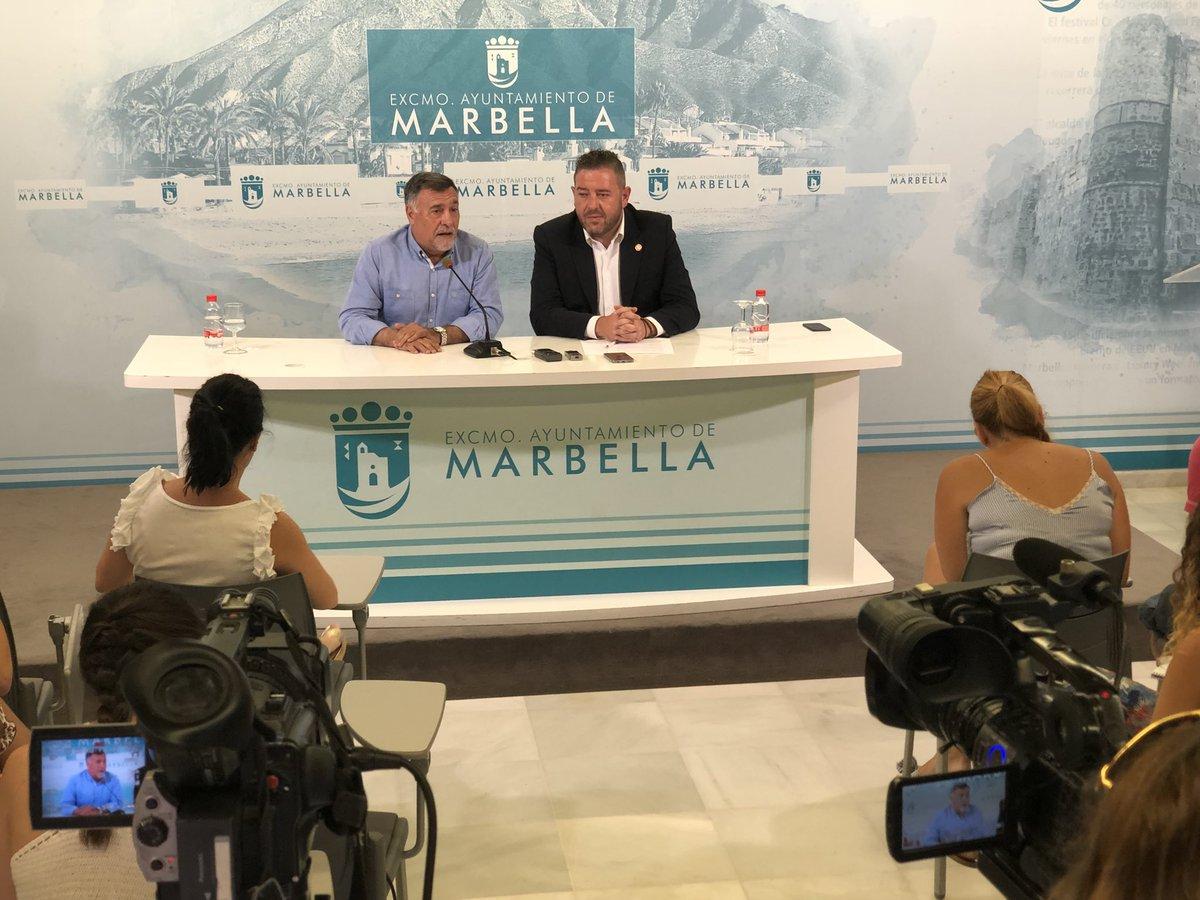 Comienza en #Marbella la rueda de prensa del Smart Living Marbella➡️ #BlockchainDestination #SLM18 📸📹📺➡️