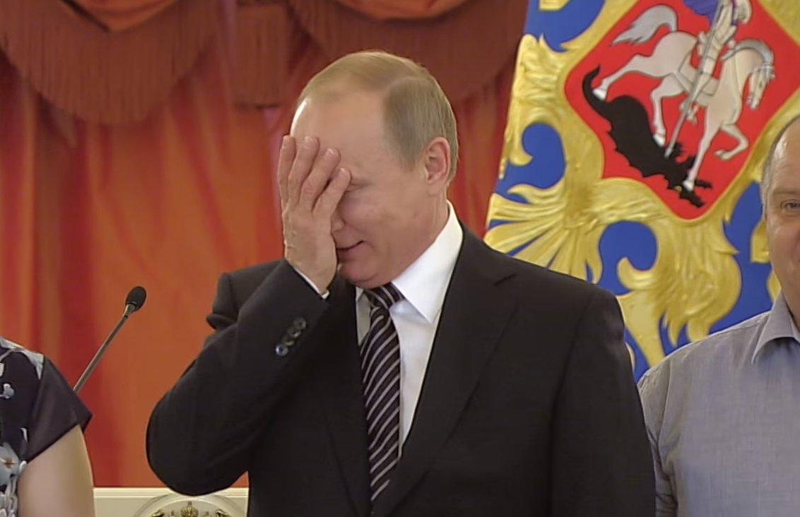 """Результат пошуку зображень за запитом """"Фейл Путіна: президент Росії не зміг знайти прапор своєї країни"""""""