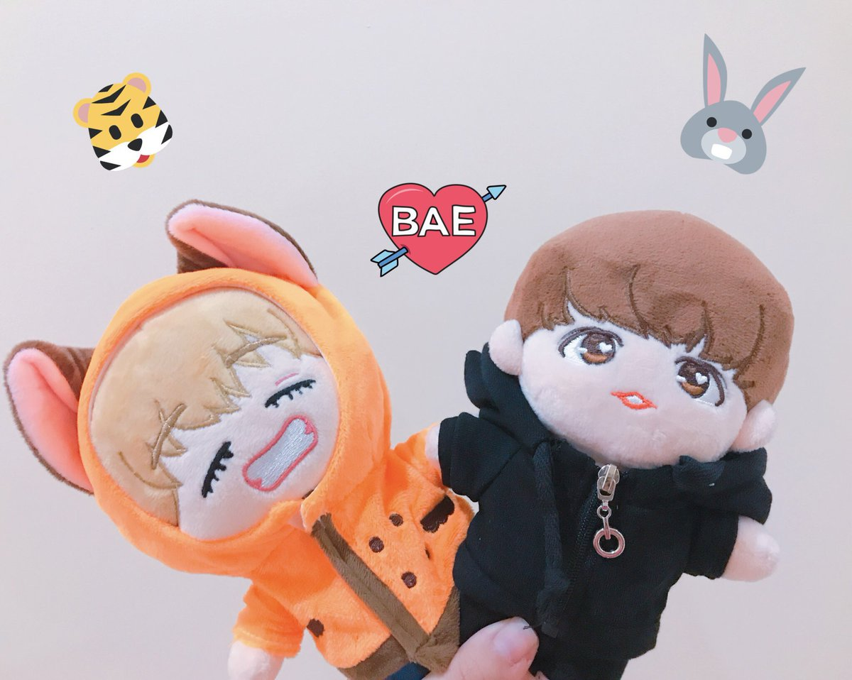 Selling Preloved On Twitter Help Rt Ina Only Boneka Bts V Or Taehyung Jungkook Bakookie Doll 2 Set Baju 1 Topi Only 600 000 Maknaez Line V Doll 1 Set Fox