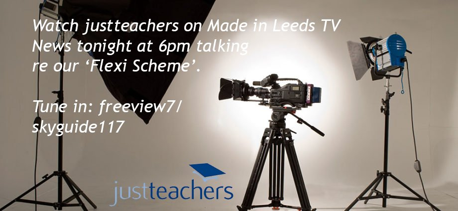 test Twitter Media - Tune in tonight @ 6pm- #justteachers are airing on @madeinleeds #freeview7 #skyguide117 talking re our #flexiteaching scheme with our Manchester Op's Manager Jane Embury & #jtteacher Sarah Davies. #JobShare #TeachingSuccess #WorkLifeBalance #SupplyTeachers #PermanentRecruitment https://t.co/mIhwc5jBjQ