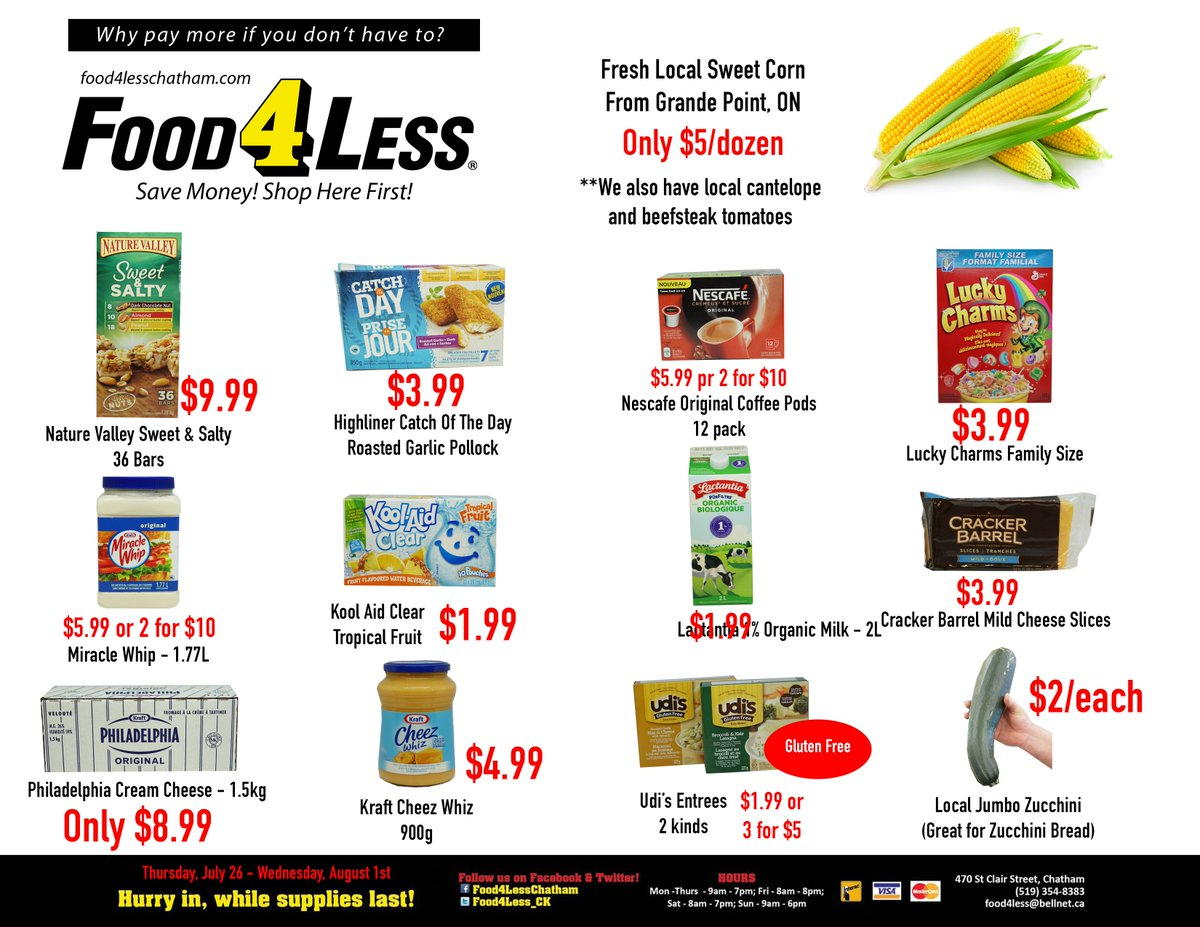 Food 4 Less Chatham (@Food4Less_CK) | Twitter