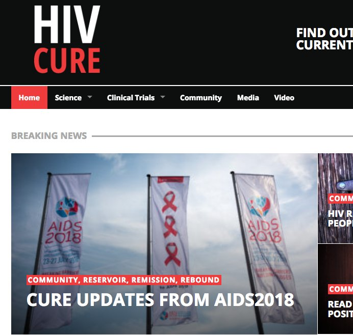 HIV cure on Twitter: