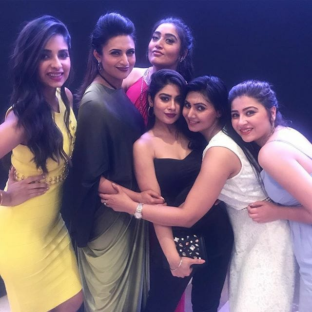 yeh hai mohabbatein, yhm, 1500 episodes, party, pics, images, aditi bhatia, divyanka tripathi, krishna mukherjee, photos. latest,