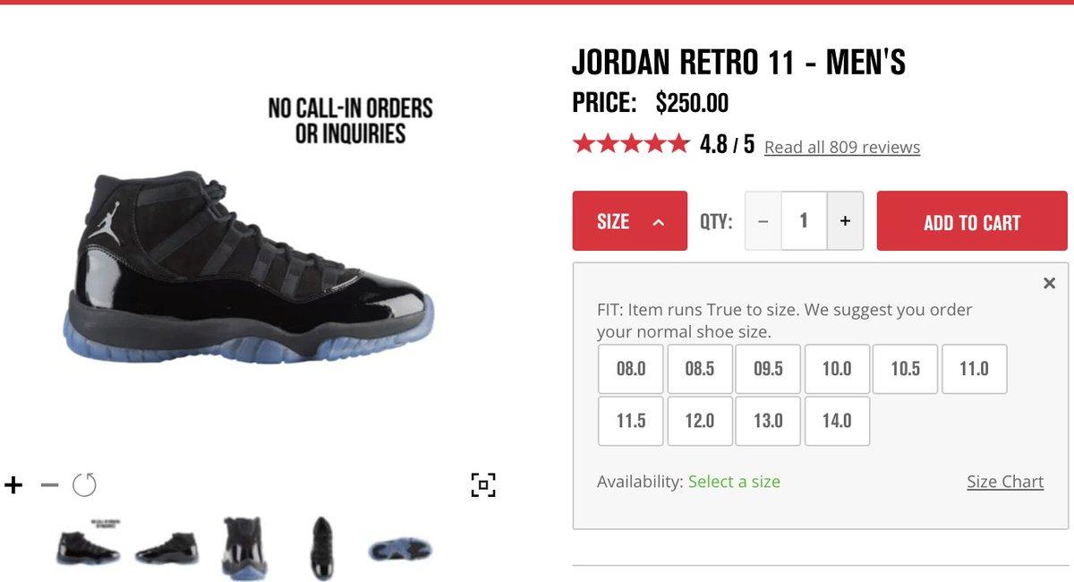 2594f1386ee9 Select JORDAN RETRO restock again via Foot Locker here     http   bit.ly 2s2qFB4 Air Jordan 11 Retro  Cap   Gown   http   bit.ly 2mJv74P Air Jordan 3 Retro   ...